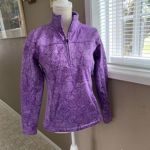 Cascade Sports purple pullover athletic jacket, M